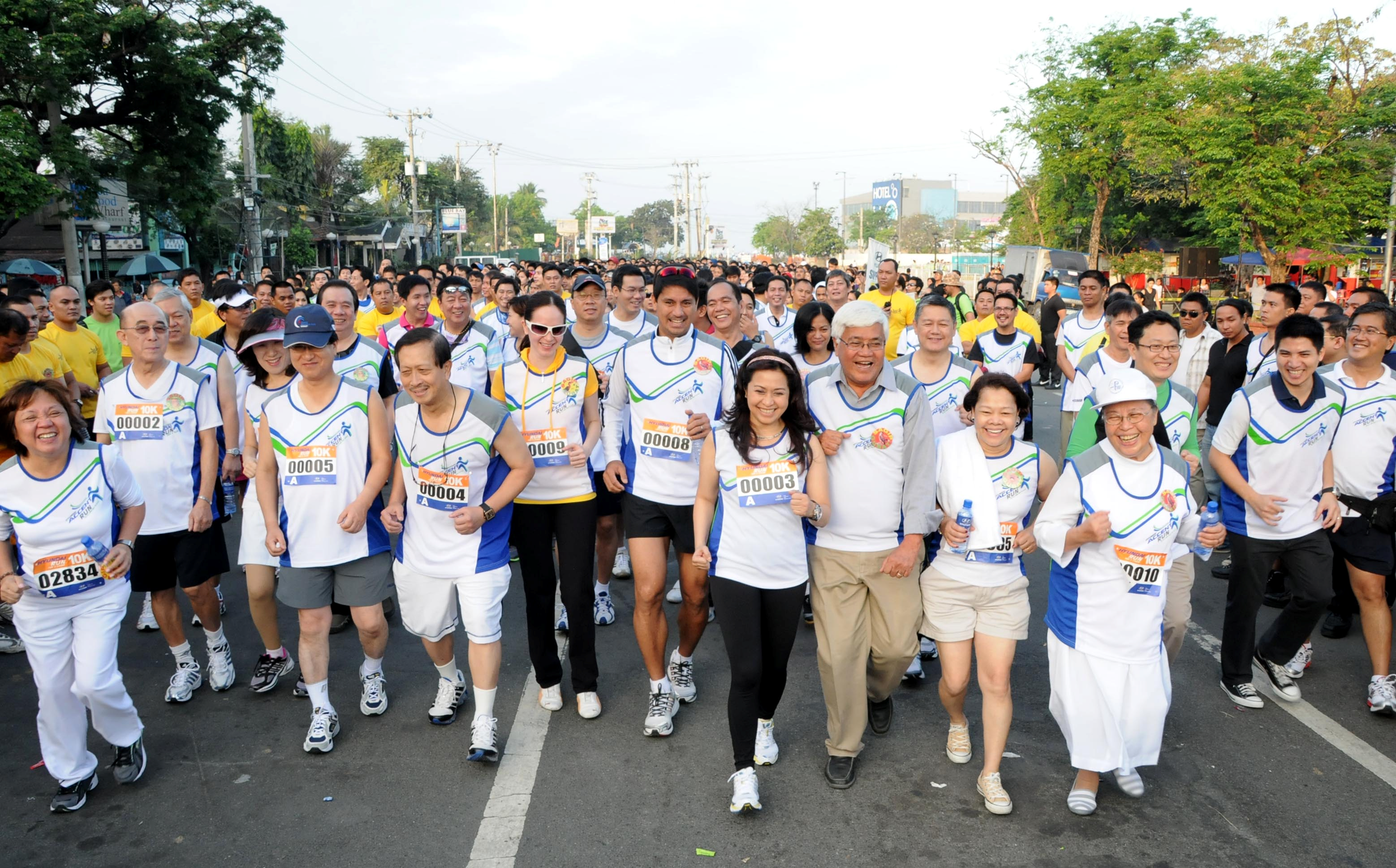 Running for a Cause forecasting