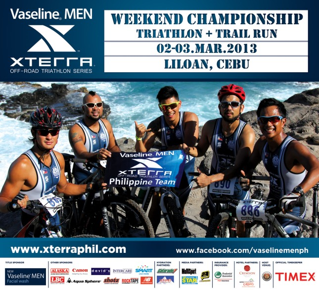 VMen XTERRA_Conquer your limits with_Photo 1