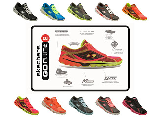 Skechers GOrun2 variants