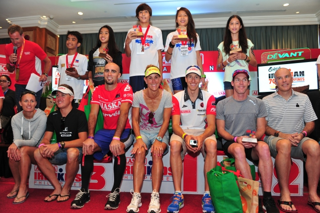 Ironkids Triathlon Awarding
