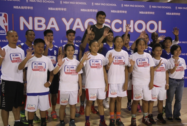 : Jr. NBA and Jr. WNBA Philippine All-Stars conquered Beijing, China for the 2014 NBA Experience