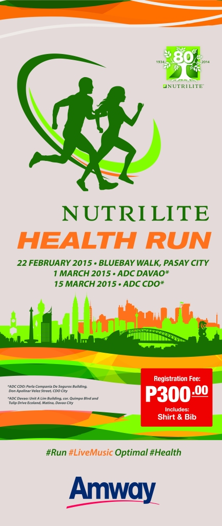 Health Run-Pull up banner