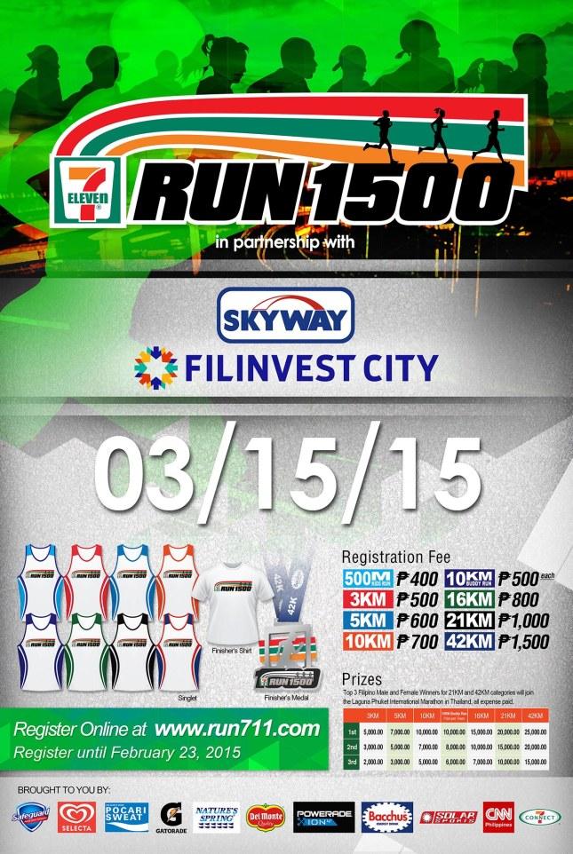 Run1500 official poster