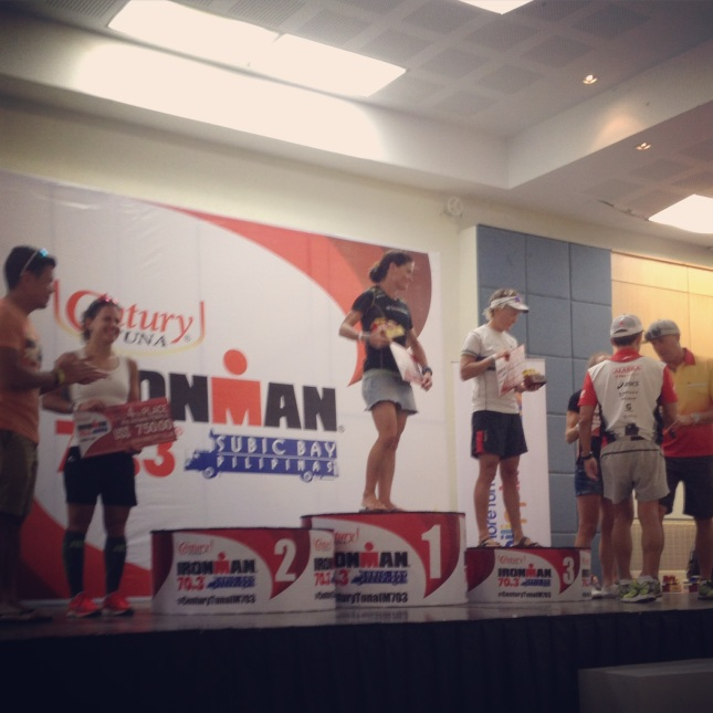 The Female Pro Century IronMan 70.3 Winners