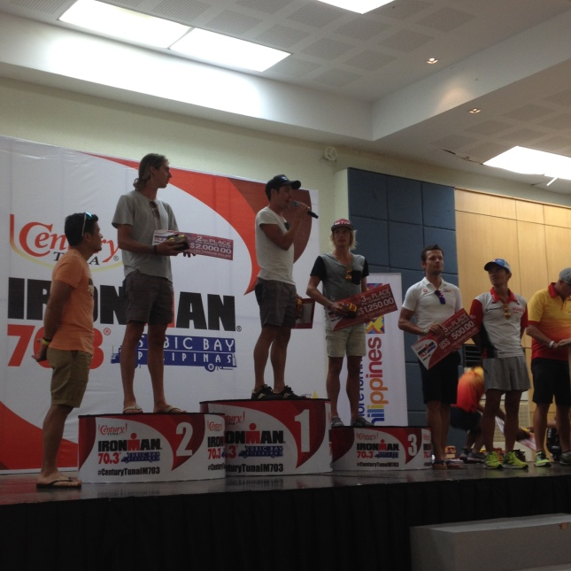 The Male Pro Century IronMan 70.3 Winners